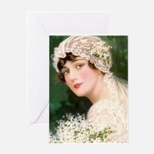 Vintage Bride from 1915 Greeting Cards