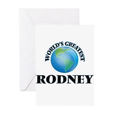 World's Greatest Rodney Greeting Cards