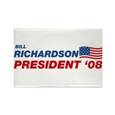 Bill Richardson for President Rectangle Magnet