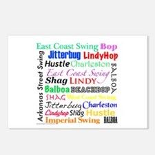 All Swing Dances Postcards (Package of 8)