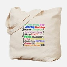 All Swing Dances Tote Bag