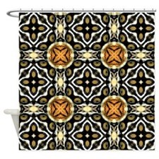 Chic Abstract Animal Print Shower Curtain