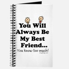 Best Friends Knows Saying Journal