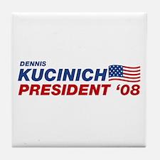 Dennis Kucinich for President Tile Coaster