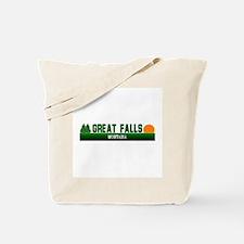 Great Falls, Montana Tote Bag