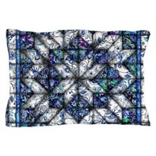 blue onion quilt Pillow Case