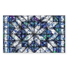 blue onion quilt Decal