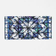 blue onion quilt Aluminum License Plate