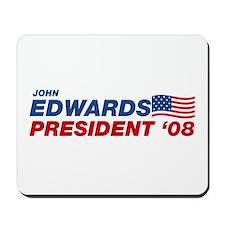 John Edwards for President Mousepad