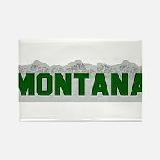 Montana Rectangle Magnet