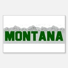 Montana Rectangle Decal