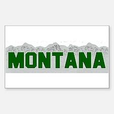 Montana Rectangle Decal