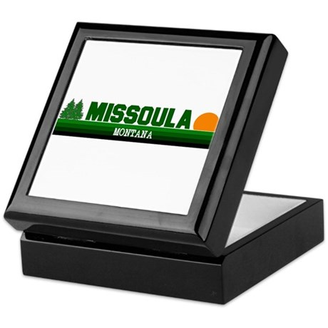 Missoula, Montana Keepsake Box