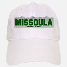Missoula, Montana Baseball Baseball Cap