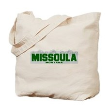 Missoula, Montana Tote Bag