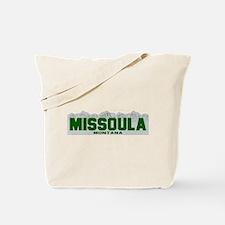 Missoula, Montana Tote Bag