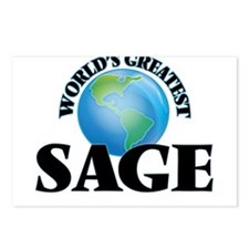 World's Greatest Sage Postcards (Package of 8)
