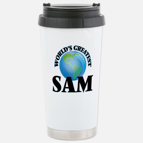 World's Greatest Sam Stainless Steel Travel Mug