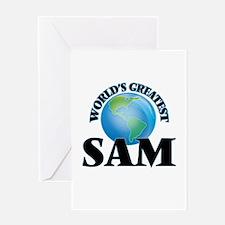 World's Greatest Sam Greeting Cards