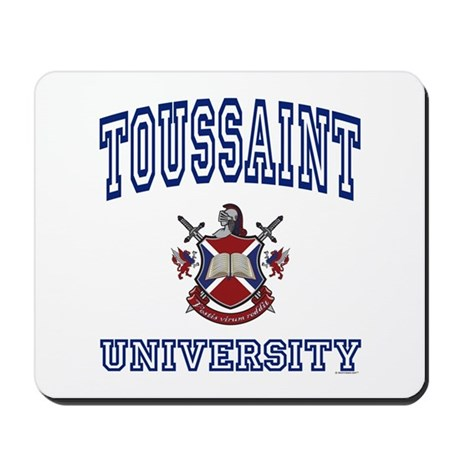 TOUSSAINT University Mousepad