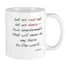 Voltaire On Dance Small Mug