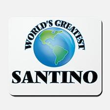 World's Greatest Santino Mousepad