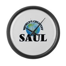 World's Greatest Saul Large Wall Clock