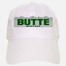 Butte, Montana Baseball Baseball Cap