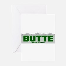 Butte, Montana Greeting Cards (Pk of 10)