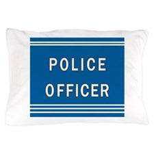 Police Officer Blues Pillow Case