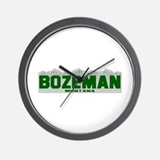Bozeman, Montana Wall Clock