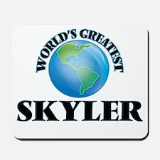 World's Greatest Skyler Mousepad