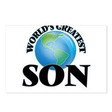 World's Greatest Son Postcards (Package of 8)