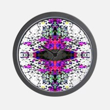 Colorful Distortion Wall Clock