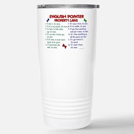 English Pointer Property Laws 2 Mugs