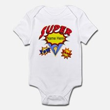 Superhero Comic Book Infant Body Suit