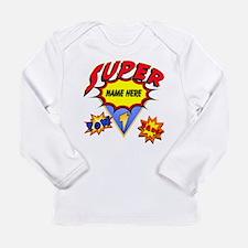 Superhero Comic Book Infant Long Sleeve T-Shirt