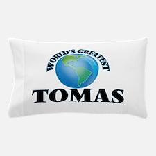 World's Greatest Tomas Pillow Case