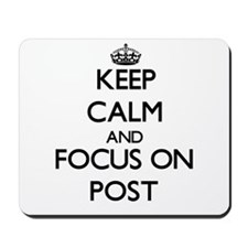 Keep Calm and focus on Post Mousepad