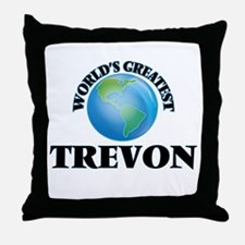 World's Greatest Trevon Throw Pillow