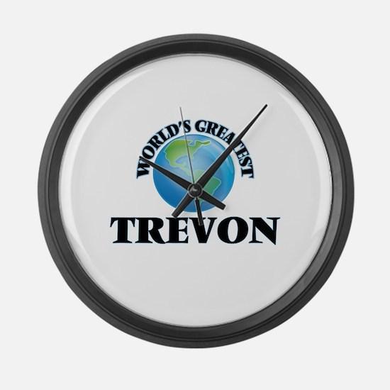 World's Greatest Trevon Large Wall Clock