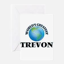 World's Greatest Trevon Greeting Cards