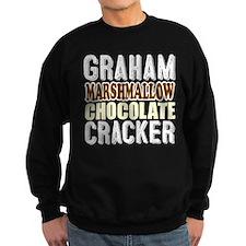 Graham Cracker Marshmallow Chocolate Sweatshirt