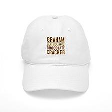 Graham Cracker Marshmallow Chocolate Baseball Baseball Cap