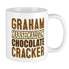 Graham Cracker Marshmallow Chocolate Mugs