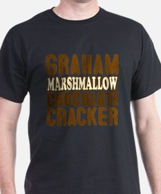 Graham Cracker Marshmallow Chocolate T-Shirt