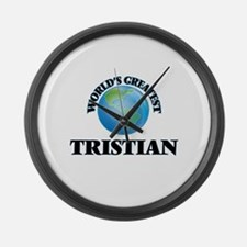 World's Greatest Tristian Large Wall Clock