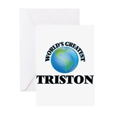 World's Greatest Triston Greeting Cards