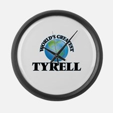 World's Greatest Tyrell Large Wall Clock