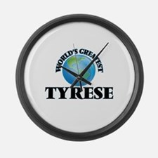 World's Greatest Tyrese Large Wall Clock